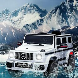 12V Licensed Mercedes Benz AMG G63 Ride On Car with Remote Control for Kids MP3 $169.99