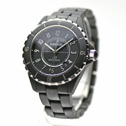 Chanel J12 Matte Black Ceramic Automatic H3131 Winding Mens For No.8630 $4579.10
