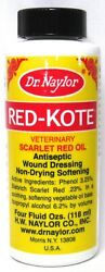 DR NAYLOR Red Kote Veterinary Scarlet Red Oil Antiseptic Wound Dressing 4oz gt;NEW $11.66