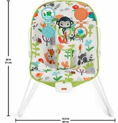 Fisher Price Baby#x27;s Bouncer – Forest Explorers Baby Bouncing Chair for Soothing $34.99