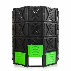 XXL Large Compost Bin Outdoor 720L 190 Gallon Easy Assembly No Screws BPA F... $131.01