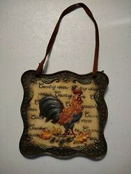 Rooster Kitchen Decor $10.00