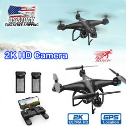 Holy Stone HS120D With 2K HD Camera FPV RC Drone GPS Quadcopter Follow Me $149.00
