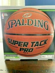 Spalding NBA 28.5 Super Tack Pro Composite Leather Indoor Outdoor Basketball $24.87
