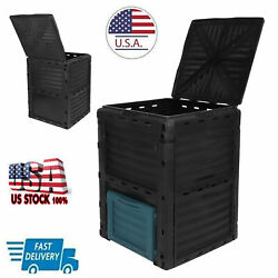 300L Composting Bin Large Capacity Compost Container for Outdoor Garden Supplies $89.07