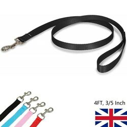 4FT Small Dog Leash Nylon Leads for Puppy Walking Training1 2PCS 4 Colors $5.99