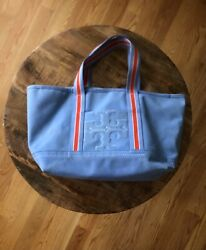 Tory Burch large canvas tote zip top $59.40