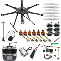 QWinOut DIY FPV Drone Hexacopter 6 axle Aircraft Kit : HMF S550 Frame PXI PX4 F $389.00