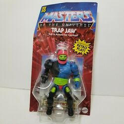 Masters of the Universe Origins Trap Jaw Toy Sale Action Figure DAMAGED BOX MOTU $38.88