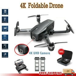2021 New RC Drone 4k HD Camera Foldable WIFI FPV Drone GPS Brushless Quadcopter $229.00