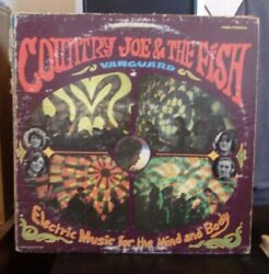 Country Joe amp; The Fish Electric Music For The Mind And Body LP 1967 pressing $10.00