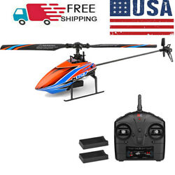 WLtoys XKS K127 RC Helicopter Remote Control Gift For Beginners 2 Batteries R1M6 $65.69