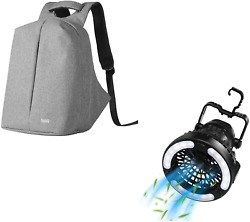 Raddy Cf2 Portable Camping Fan With Led Lantern Battery Powered For Tent Raddy $78.99