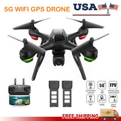 Holy Stone HS130D RC Drones 5G GPS WIFI 2K HD Camera Quadcopter FPV 2 Batteries $73.99