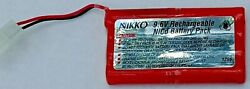 Nikko 9.6V Rechargeable NiCd RC Battery Pack for Remote Control Cars $17.96
