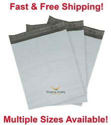 Poly Mailers Shipping Envelopes Self Sealing Plastic Mailing Bags Select Size $9.50