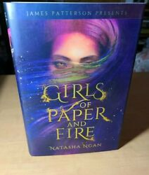 Girls Of Paper And Fire by Natasha Ngan Signed 1st Edition Hardcover $24.89