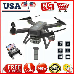 DEERC D15 GPS RC Drones with 4K UHD EIS Camera 5G Wifi FPV Brushless Quadcopter $179.00