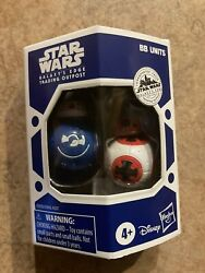 Hasbro Target Star Wars Galaxys Edge Exclusive Blue amp; Red BB Units Droid Set $12.00