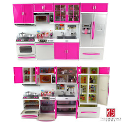 My Modern Kitchen Full Deluxe Kit Battery Operated Kitchen Playset : Refriger... $51.95