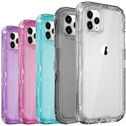 Shockproof Case For iPhone 12 11 Pro Max Xr Xs 6 6s 8 7 Plus SE Heavy Duty Cover $7.95