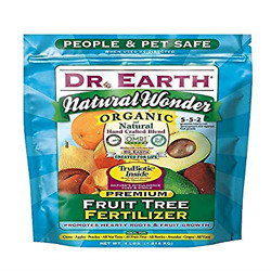 Dr. Earth 708P Organic 9 Fruit Tree Fertilizer In Poly Bag 4 Pound $16.41