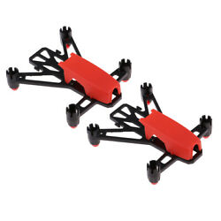 2x Racer Q100 Micro Brushed RC Quadcopter DIY Frame Kit for Drone Supporter $11.24