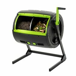 RSI MAZE 65 Gal. Two Stage Tumbling Composter Black $170.00