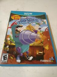 Phineas and Ferb: Quest for Cool Stuff Nintendo Wii U 2013 Complete w Manual $42.99