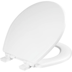 Church Commercial White Round Toilet Seat Heavy Duty Resists Wear White NEW