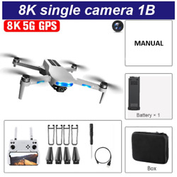 2021 8K HD Camera 5G GPS RC Foldable Drone FPV WIFI Quadcopter Aerial Photograph $89.99