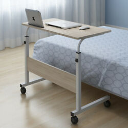 Adjustable Portable Table Desk Smart TV Tray Laptop PC Dinner Bed Mate $27.96