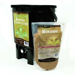 Kitchen Composter Bokashi Composting for the Home 75% Recycled Plastic $48.99