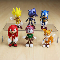 CUSTOM 6pcs FANG NACK Sonic Toys Figure Doll Unofficial NEW
