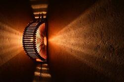 Wall lamp hand made wooden lighting for any room Decorate Modern Vintage LED $39.99
