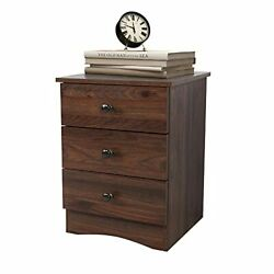 Bedroom Nightstands with 3 DrawersBedside Table end Table with Open ShelfWalnut $466.44