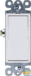 Grounding Paddle Rocker Switch Single Pole in Wall On Off Power Replacement $3.54