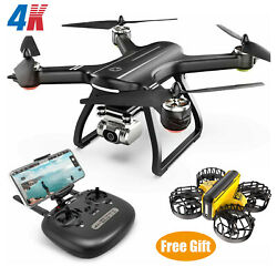 Holy Stone HS700D RC Drone GPS 4K HD Camera FPV Quadcopter BrushlessFree Gift $209.99