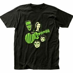 The Munsters Monkees Funny Horror Unisex T Shirt Funny Gift For Fans S 5XL $24.99