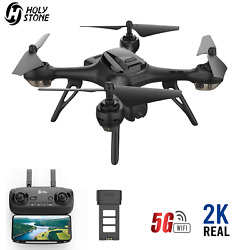 Holy Stone HS130D GPS Drone 2K FHD Camera 5G FPV WiFi RC Quadcopter 2 Battery $74.00