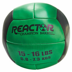 Champion Barbell Reactor Medicine Ball With Green Finish 1266276 $49.02