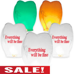Chinese Lanterns100% Biodegradable For Parties for Wedding and All Days $14.89