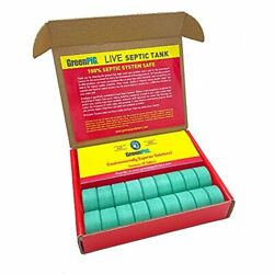 GREEN PIG 54C Commercial Strength Aids in The Breakdown Waste to Prevent Back...