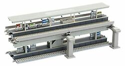 TOMIX N gauge Elevated Double Track Floor Station 91044 Model Train Supplies $76.00