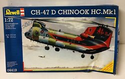 Revell CH 47 D HC.Mk1 Chinook Helicopter Model Kit #04419 1:72 Scale $29.95