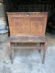 antique desk from 1800's $200.00