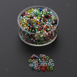 1000pack Crystal Seed Beads Charm Mixed Spacer Mini Beads Jewelry Making C $12.42