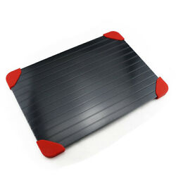 Fast Metal Thawing Plate Defrosting Tray Frozen Food meat Defrost Kitchen Kitgt; C $17.14