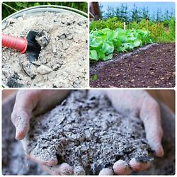 Pure Premium Double Sifted Hard Wood Ash Organic Compost Gardening Pottery Soap $10.95