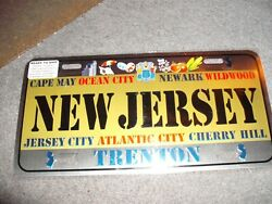 License Plate Home Plates State Of New Jersey $7.99